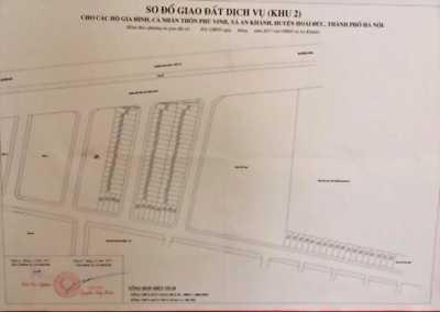 46m2 đất dịch vụ Phú Vinh - An Khánh, đất chuẩn bị bốc thăm