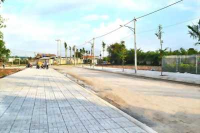 Đất nền thổ cư 100% tặng VTXD, đường N.Văn Bứa, shr