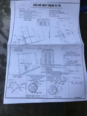 bán đất hóc môn 700m2 ,gồm hai thửa sổ riêng, giá tổng 800tr, thổ cư 200m, sổ hồng.