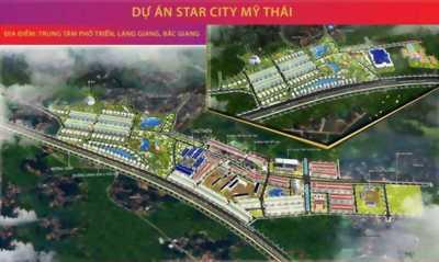 Cần bán lô đất tại khu đô thị Start City Mỹ Thái, Lạng Giang, Bắc Giang