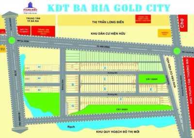 Bán đất dự án mới mặt tiền ĐT 44A Bà Rịa Gold City