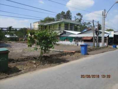 Đất 2 mặt tiền ngã 3 Hàng Thẻ xã phú Qưới TP Vinhlong