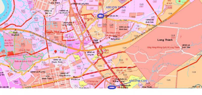 Đất Nền Nóng MT DT769-Lộc An Long Thành-chỉ 7,5tr/m2