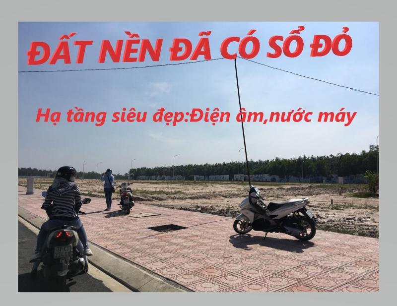Đất nền đã có sổ đỏ,chỉ 6,6tr/m2, Long Thành-Đồng Nai.