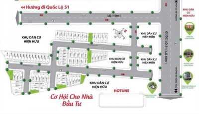 1 Dự án nằm ngay gần sân bay Long Thành-Đồng Nai, 5x20, 5x22, shr, 0938247698.