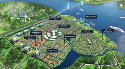 Khu đô thị sinh thái ven sông đẳng cấp bến du thuyền