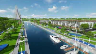 Khu đô thị ven sông đẳng cấp giá  chỉ 9tr/m2
