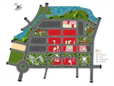 Giu chỗ dự án KING bay - 50tr/vị trí, 125m2, 23ttr/m2