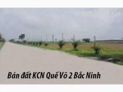 Bán gấp đất KCN Quế Võ Bắc Ninh DT 1,5ha