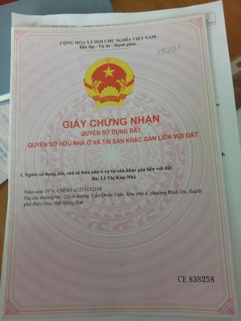 Nợ Ngân Hàng Bán Gấp Lô Đất Sổ Hồng Riêng