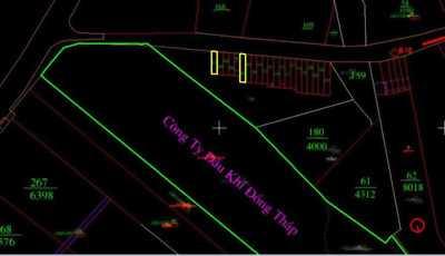 Bán đất ngay khu công nghiệp Phú Mỹ 3 đường vào cảng cái mép QL51 giá 355tr