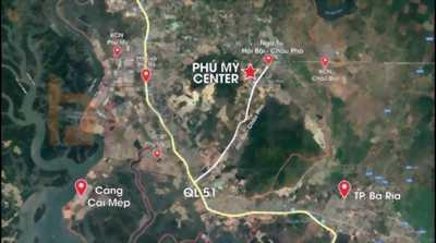 Bán đất Phú Mỹ, Bà Rịa-Vũng Tàu, đất ở , 20x25, shr.