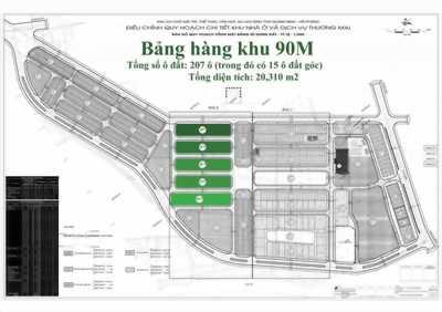 Mua đất nền tại KĐT Quang Minh Green City