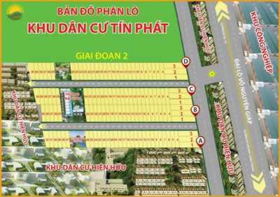 Bán Đất Khu dân cư Tín Phát.