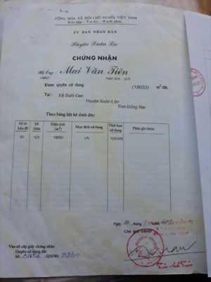 Đất chính chủ 1 mẫu 8 (18033m2) Suối Cao ,  Xuân Lộc