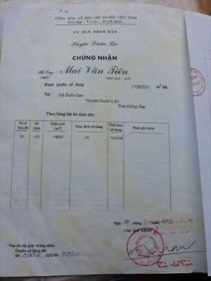 Đất chính chủ 1 mẫu 8 Suối Cao, Xuân Lộc