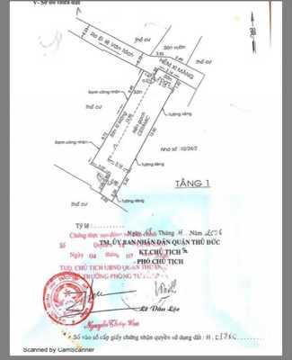 Bán lô đất nền trên đường Phạm Văn ĐỒng Thủ ĐỨc