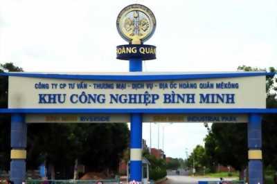Bán nền TC tại kcn Bình Minh Vĩnh Long chân cầu Cần Thơ