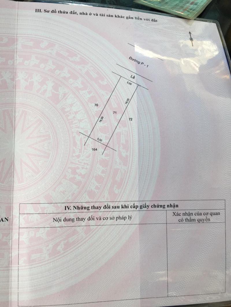 Thanh lý gấp lô đất gần kcn thái hòa và khu KĐT phức hợp Vingroup 900ha giá chỉ 1ty350