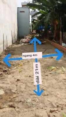 Đất bán 4 x 21m giá 2 tỷ 380 triệu đường Lê Thị Riêng.