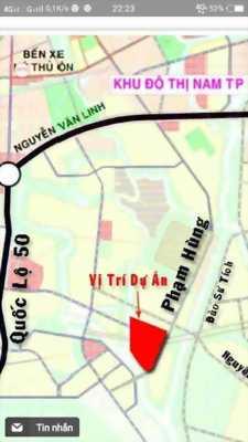 Dự án nằm ngay khu đô thị nam sài gòn