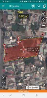 Cần bán Lô đất khủng nằm ở mặt tiền Huỳnh Tấn Phát, Quận 7, TPHCM