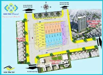 Bán đất 3 mặt tiền Kinh Doanh - An cư, đường 20m