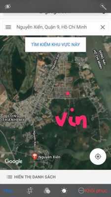 Cần bán nhanh 100m2 thổ cư mặt tiền đường 11A, Phước Thiện đối diện Vincity
