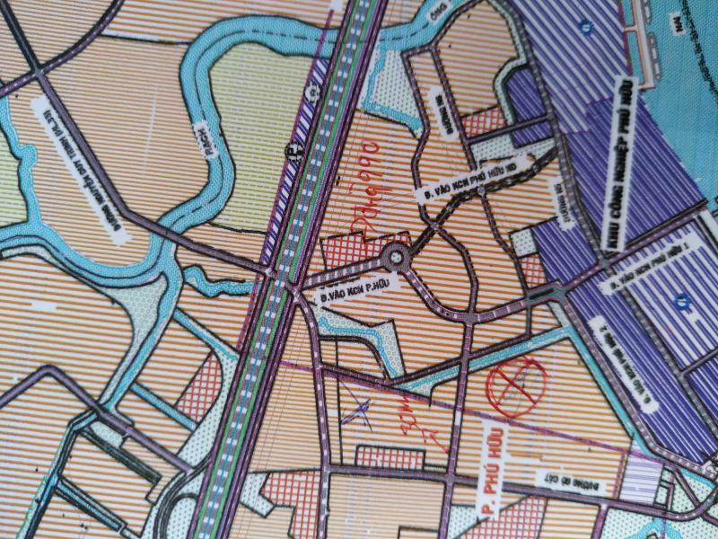 Bán đất mặt tiền Phường Phú Hữu Quận 9