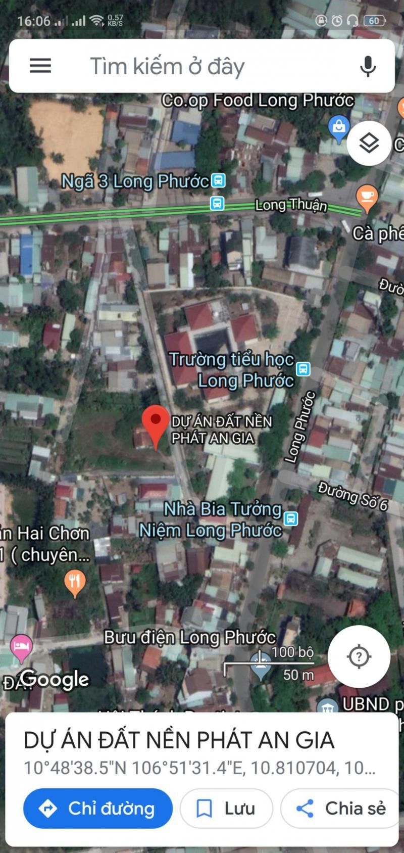 Sở hữu ngay lô đất tại Ốc Đảo Long Phước chỉ với 874 triệu/ nền SHR, XDTD, Thổ cư 100%