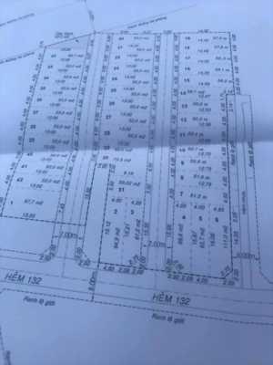 Bán đất và nhà hẻm 132 Mã Lò khu trung tâm thương mại