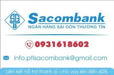 Sacombank Hỗ Trợ Thanh Lý 19 Nền Đất KDC Tên Lửa Mở rộng