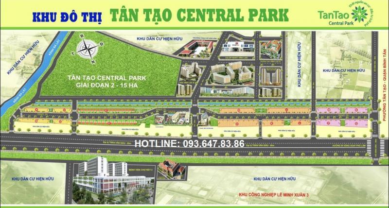 Pháp lý của D.a Tân Tạo Central Park Đang Hot Nhất Thị trường cuối năm