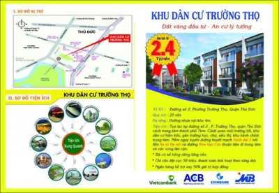 Đất Trường Thọ ngay Phạm Văn Đồng, Sổ hồng riêng