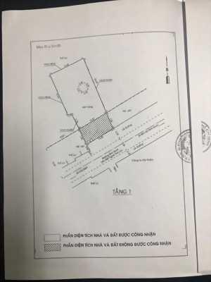 """Kẹt tiền bán gấp đất """"mặt tiền"""" đường Bình Quới, phường 28"""