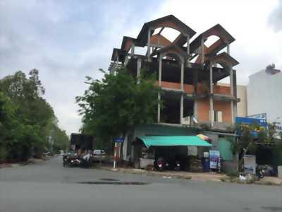 Bán cặp Nhà góc Xây Thô 1 trệt 3 lầu đường Bùi Quang Trinh (đường số 8 KDC 586 TP Cần thơ)  - DT 247m2 - Hướng Đông Nam và Tây Nam - LG 30m - Giá 10 tỷ