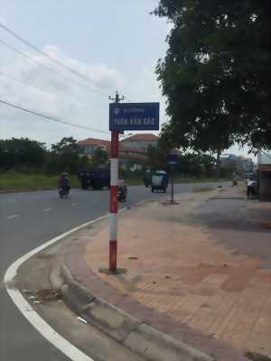 Bán nền góc 2 mặt tiền đường Trần Văn Sắc khu dân cư Nông Thổ Sản - DT 85,5m2 – Giá 1 tỷ 970 triệu - Lh 0986 184 837 Sương