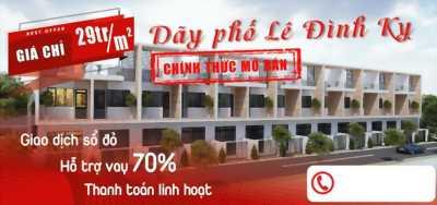 Mở bán dãy phố Lê Đình Kỵ chỉ 28tr/m2.