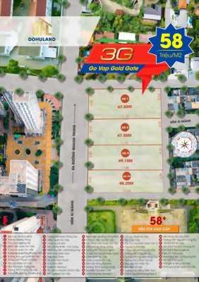 Bán đất dự án đường Quang Trung quận Gò Vấp, shr, cam kết sinh lời cao