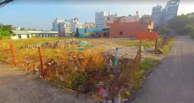 Đất thổ cư mặt tiền đường Dương Quảng Hàm, Gò Vấp 80m2 giá 1ty5