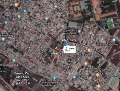 Sang nước ngoài cần bán gấp đường Nguyễn Ảnh Thủ, quận 12, Giá 980tr  LH zalo : 0968522160
