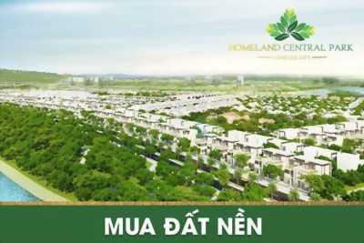 Homeland central park, tam giác vàng cho nhà đầu tư