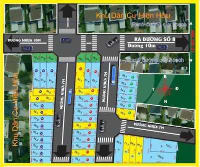 Bán đất đường số 8 Linh Xuân Thủ Đức ngay gần đh Kinh Tế-Luật BigC Dĩ An, KDC sầm uất