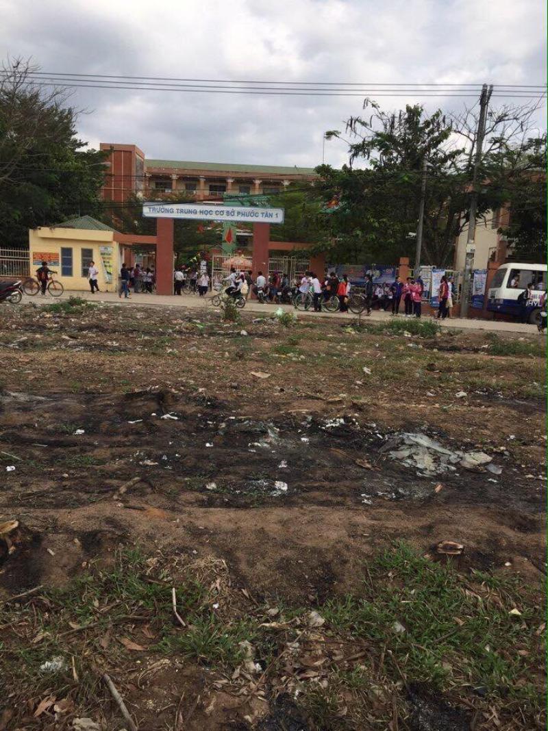 Bán đất nền đối diện trường học