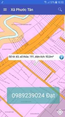 Cần tiền bán lô đất chính chủ , đường nhựa 10m