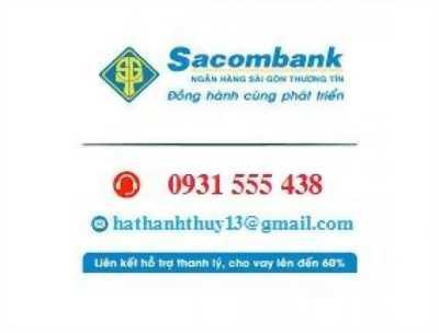 Ngân hàng Sacombank thông báo HT thanh lý 3 lô góc & 20 nền đất thổ cư liền kề khu Tên Lửa Bình Tân