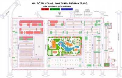 Mở bán lock mới đối diện công viên trung tâm KĐT Hoàng Long