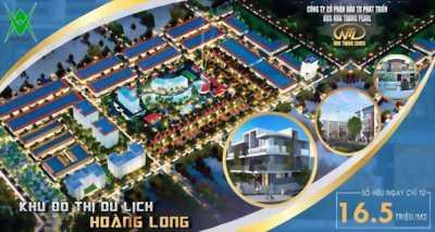 Bán đất nền dự án khu đô thị du lịch Hoàng Long