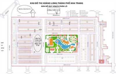 Bán gấp 2 lô KĐT du lịch Hoàng Long Nha Trang