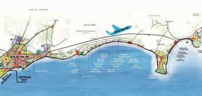 Đất mặt tiền biển TT TP.Phan Thiết, SHR, CK 6%